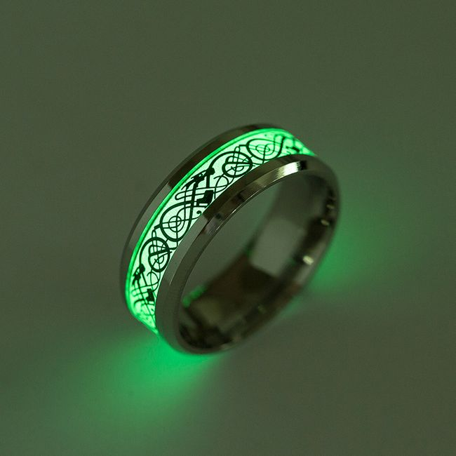 Fluorescenční prsten - 2 barvy 1