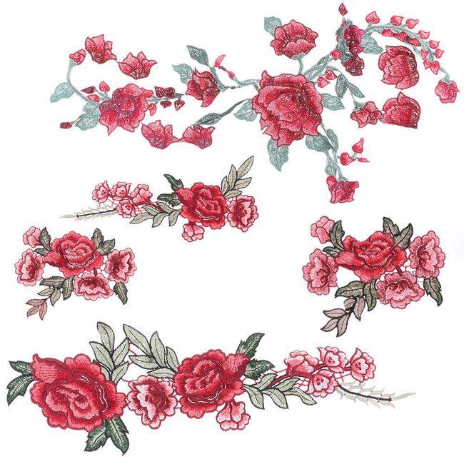 Zakrpe sa ružama - razne varijante 1