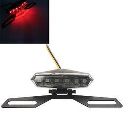 Vége 6 LED-es motorkerékpár zseblámpához