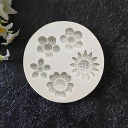 Silikonski kalup Flowers