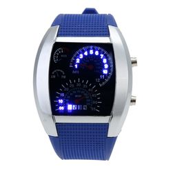 Pánské binární hodinky - 4 barvy