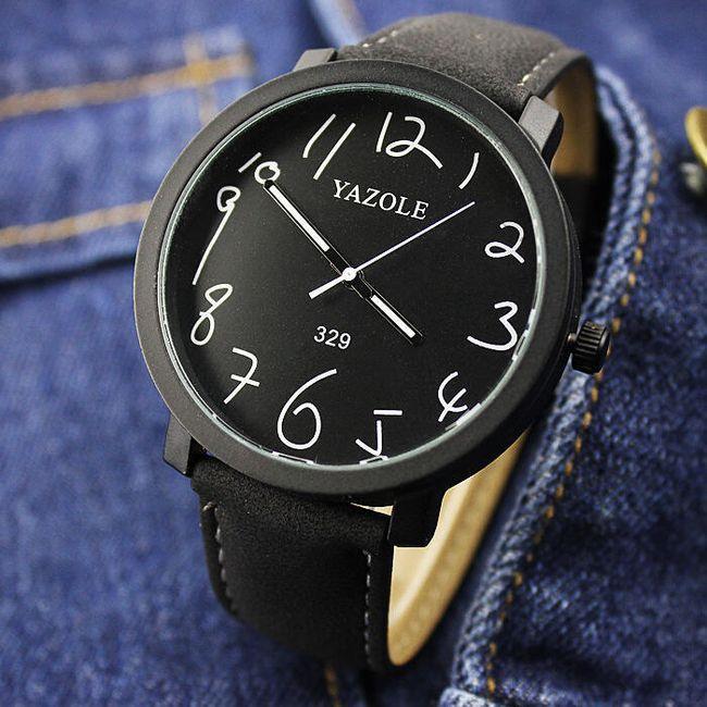 Ceas pentru bărbați cu cadran mare 1