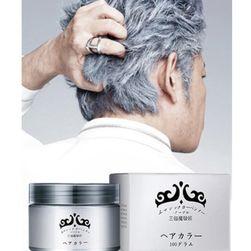 Żel do włosów w kolorze srebrnym - 120 ml