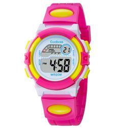 Gyerek digitális óra - több szín