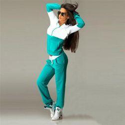 Ženska trenirka - 3 barve Zelena-velikost št. 3
