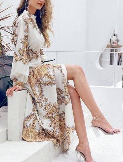 Дамска макси рокля Edith 1