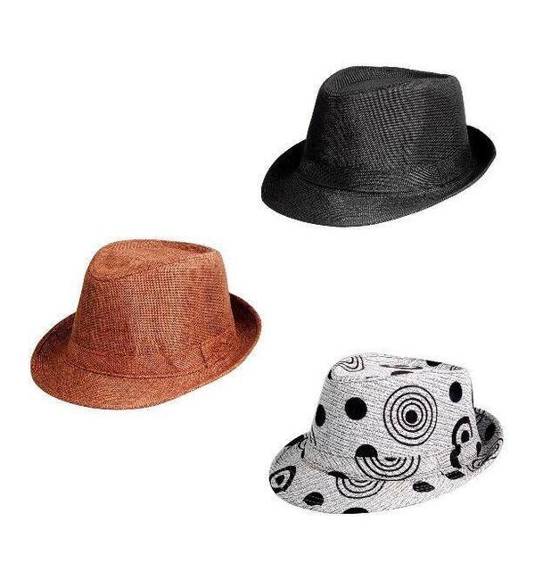 Módní klobouk ve 3 barvách 1