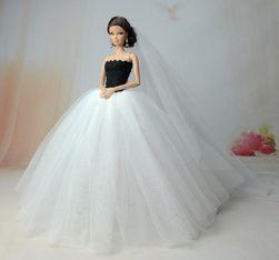 Платье для куклы- 7 вариантов