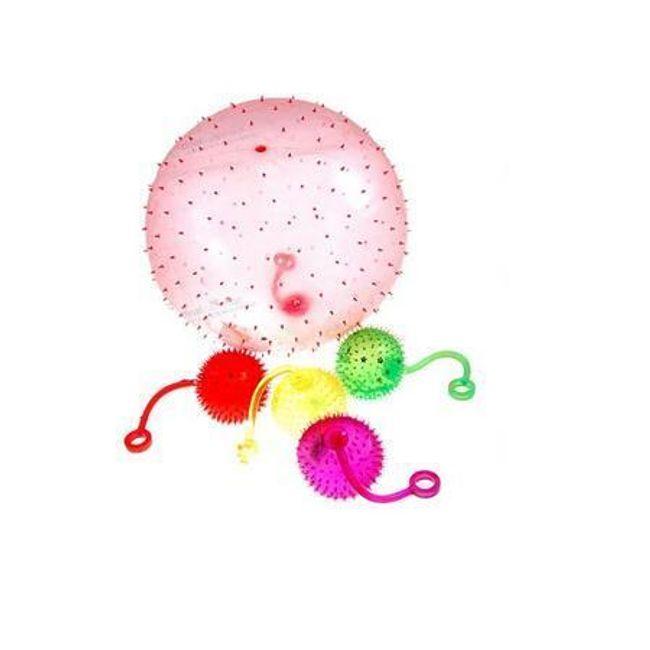 Gumové antistresové míčky - balení 4 kusů 1