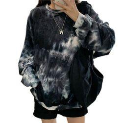 Bayan sweatshirt Violett