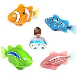 Robo-rybka w 4 kolorach