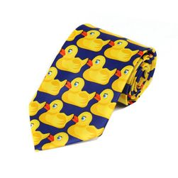 Zabawny krawat męski Donald