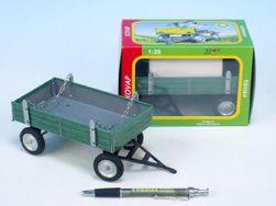 Platós zöld fém, 15 cm-es dobozban Kovap RM_95000432