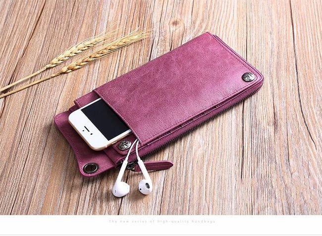 Dámská peněženka s místem pro telefon 1
