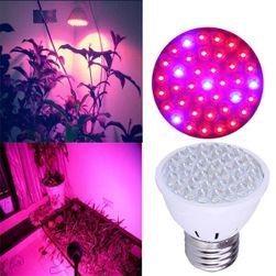 Stimulující žárovka pro rostliny - 38 LED světýlek