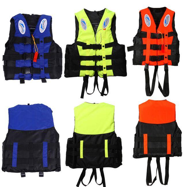 Professzionális mentőmellény a vízi sportok számára 1