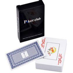 Pokerové karty - 100% nepromokavý plast