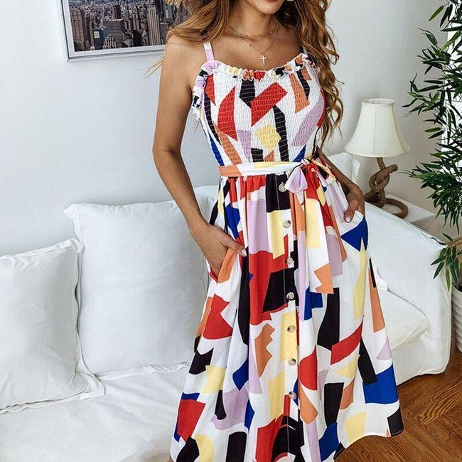 Damska sukienka bez rękawów Jeanee 1