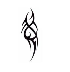 Переводная татуировка- орнамент Tribal