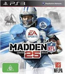 Hra (PS3) Madden 25