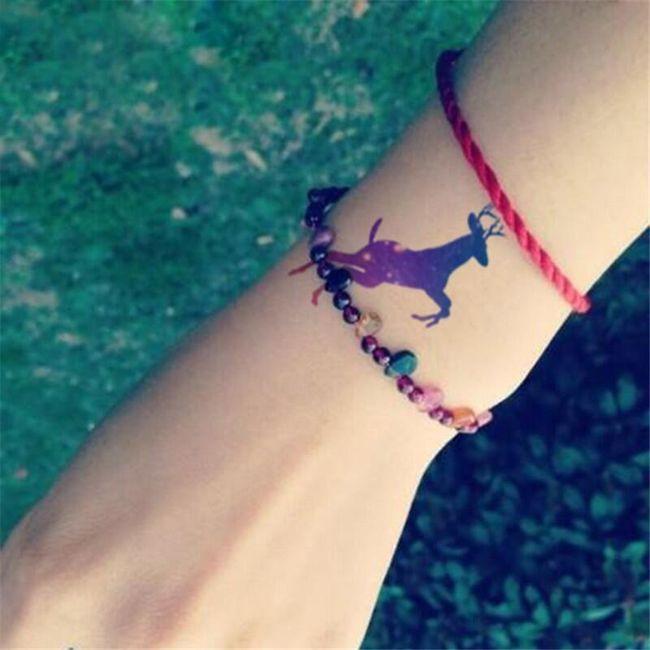 Переводные татуировки с мотивом зверей 1