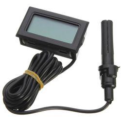 Teploměr a vlhkoměr s LCD displejem