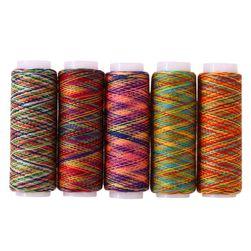 Цветные швейные нитки