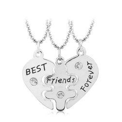 Set ogrlica za najbolje drugarice - 3 komada