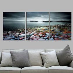 3 vászon festmény - tenger