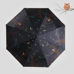 Bajkowa parasolka - Las ożywa w nocy