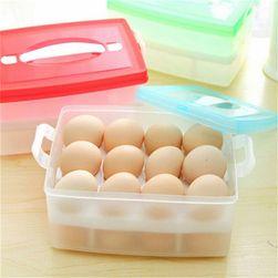 Úložný box na 24 vajec - 3 barvy