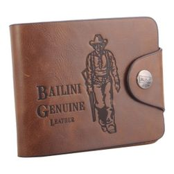 Férfi bőr pénztárca Bailini
