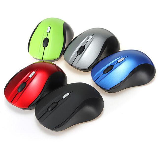 Bezprzewodowa mysz optyczna - do wyboru 5 kolorów 1