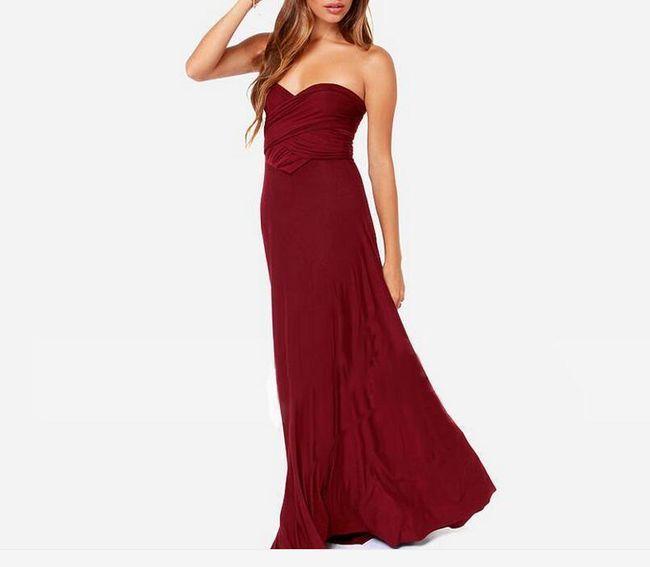 Poletna romantična obleka s prosto nastavljivim zgornjim delom - 15 barv 1