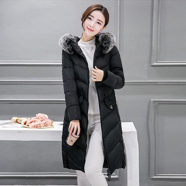 Zimní bunda Betania - Černá-L 1