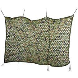 Material camuflaj cu urechi de prindere - 2 x 4 m