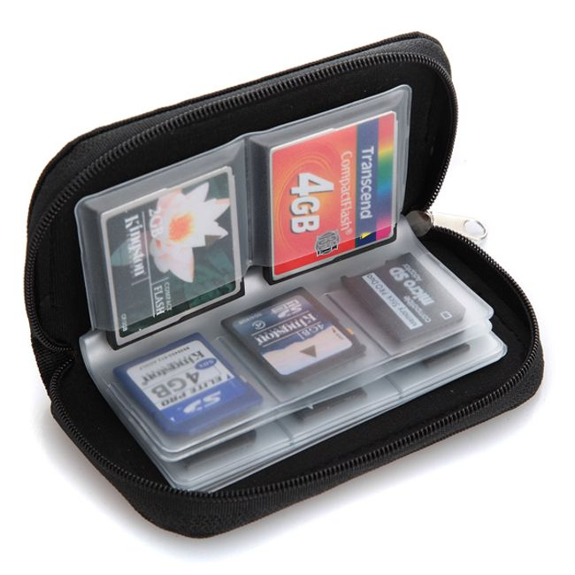 Pouzdro na 22 paměťových karet SD / MMC / XD 1