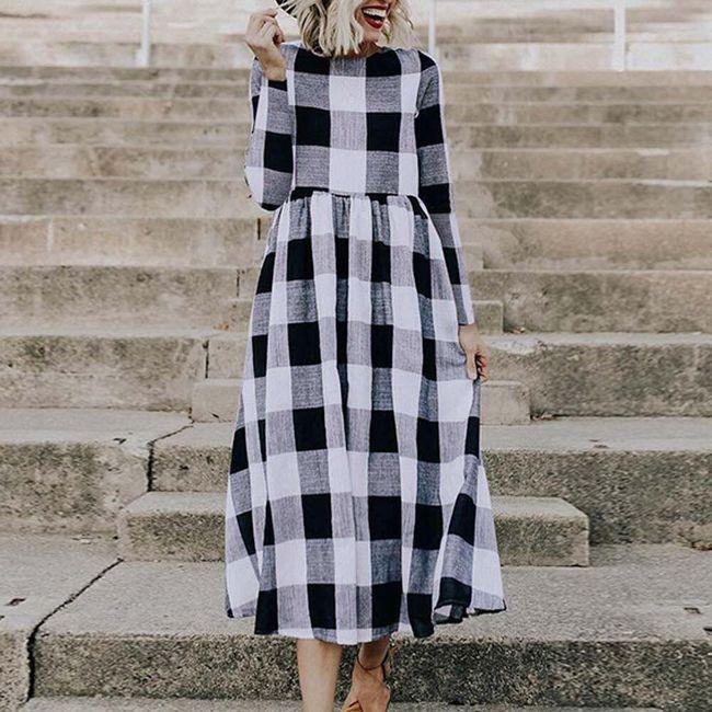 Ženska haljina sa dugačkim rukavima Baruch 1