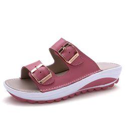 Dámské pantofle na platformě Ilsa