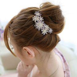 Spona do vlasů s květy