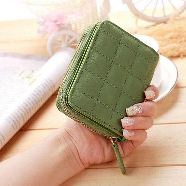 Dámská peněženka drobná - 6 barev 1