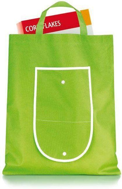 Zelená nákupní taška - skládací 1