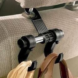 Wielofunkcyjny uchwyt z hakami  na siedzenie samochodowe
