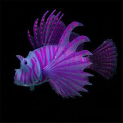 Sztuczna świecąca ryba do akwarium