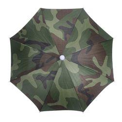Камуфляжный головной зонт-шляпа
