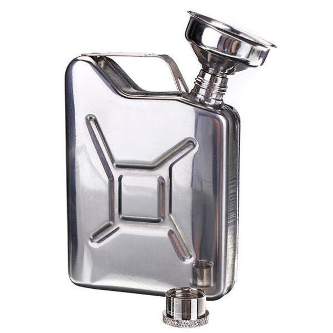 Tartály alakú fém lombik 1