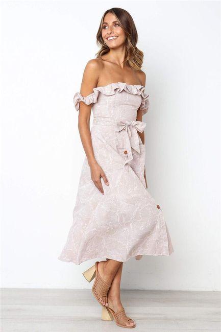 Női ruhák heveder nélkül Cherice