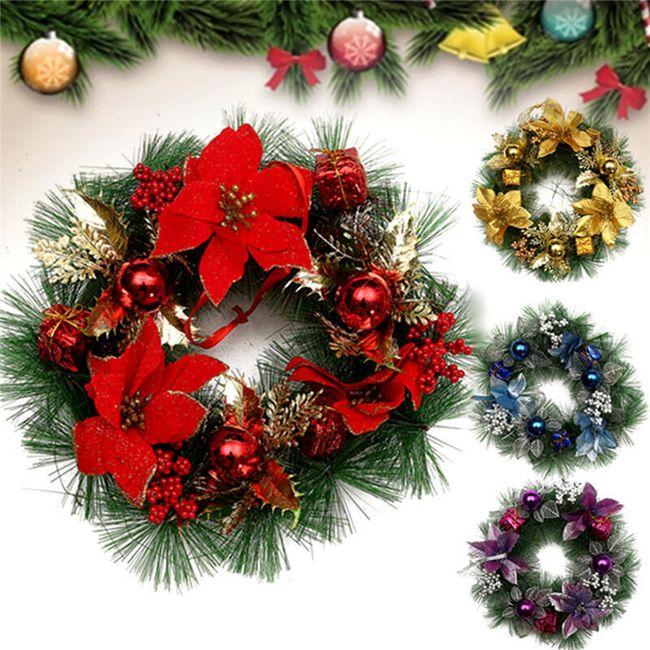 Karácsonyi koszorú - 30 cm 1