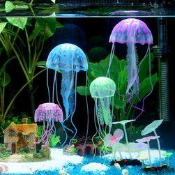 Dekoracja do akwarium - świecące meduzy