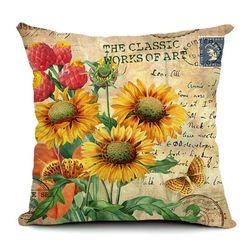Navlaka za jastuk sa motivima cveća